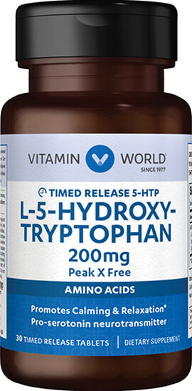 5-HTP Timed Released 200 mg.