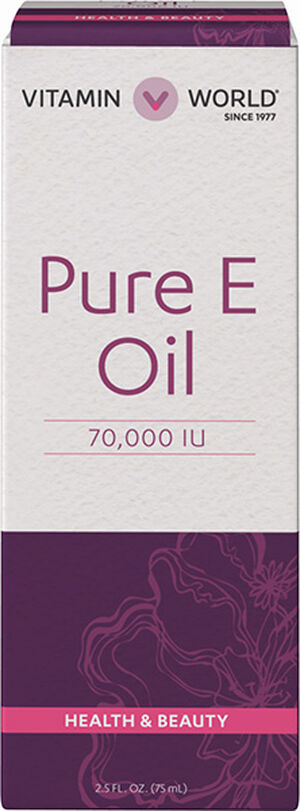 Vitamin World Pure Vitamin E Oil 70000 IU 2 oz. Liquid