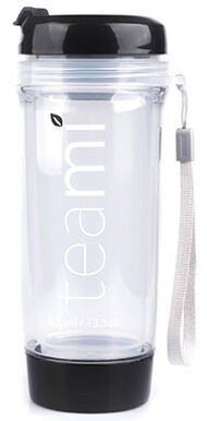 Teami Blends Teami Tea Tumbler Black 1 Bottle Black
