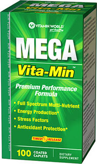 Vitamin World Mega Vita-Min™ Multlivitamins 100 Caplets