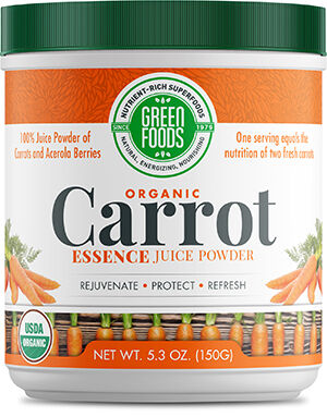 Green Foods Organic Carrot Essence Juice Powder