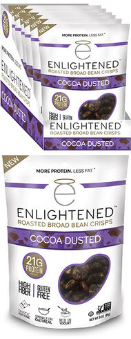 Enlightened Bean Crisps Dusted Cocoa, , hi-res