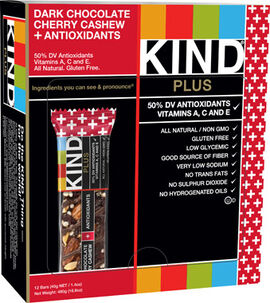 KIND Bars Dark Chocolate Cherry Cashew + Antioxidants