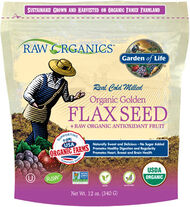 Garden Of Life Organic Golden Flaxseed & RAW Organic Antioxidant Fruit 12 oz. Seeds