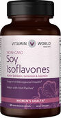 Vitamin World Soy Isoflavones 120 Capsules