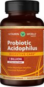 Vitamin World Probiotic Acidophilus 1 Billion 100 Capsules 1billion