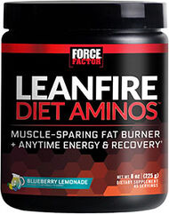 Force Factor LeanFire Diet Aminos™ Blueberry Lemonade 8 oz. 8 oz. Powder