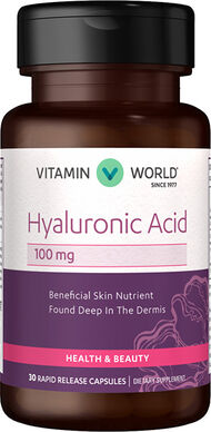 Vitamin World Hyaluronic Acid 100mg