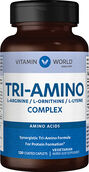Vitamin World Tri-Amino L-Lysine, L-Ornithine and L-Arginine