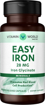 Gentle Iron - Iron Glycinate 28 mg., , hi-res