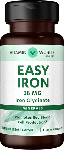 Gentle Iron - Iron Glycinate 28 mg.