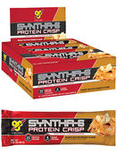 BSN Syntha-6® Protein Crisp Bars Peanut Butter Crunch Box of 12