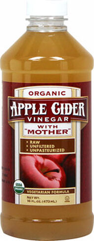 Organic Apple Cider Vinegar With Mother, , hi-res