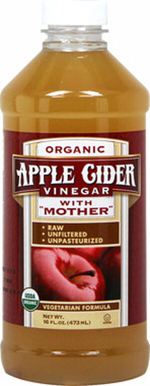 Vitamin World Organic Apple Cider Vinegar With Mother 16 oz. Liquid