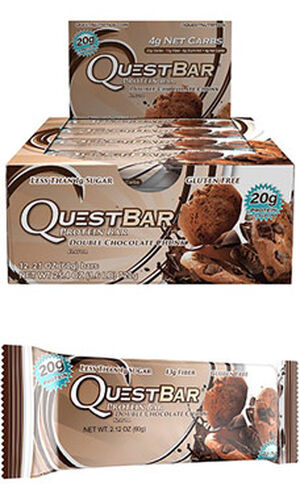 Quest Bars Double Chocolate Chunk Protein Bars