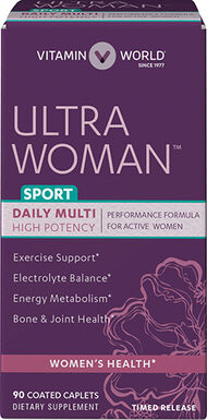 Ultra Woman™ Sport Daily Multivitamins, , hi-res