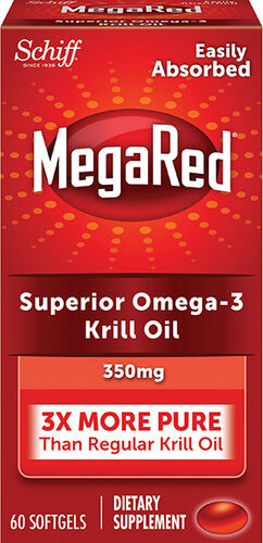 Schiff MegaRed® Superior Omega-3 Krill Oil 350 mg.