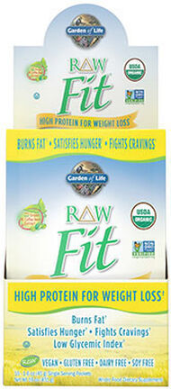Garden Of Life RAW Fit Protein Packets Unflavored 10 Packets