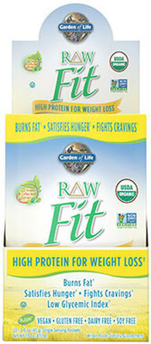raw fit protein packets unflavored hi res - Garden Of Life Raw Fit