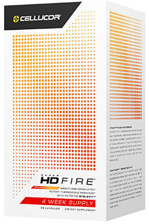 Cellucor SuperHD Fire 4 Week Supply 56 Capsules
