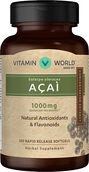 Vitamin World Acai 1000 mg.