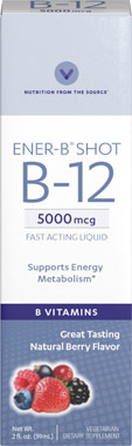 Ener-B® Shot Liquid Vitamin B-12 5000 mcg.