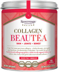 Reserveage™ Nutrition Collagen BeauTea White Tea & Hibiscus 48 Tea Bags 2.5gram