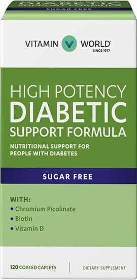 Diabetic Support Formula Caplets