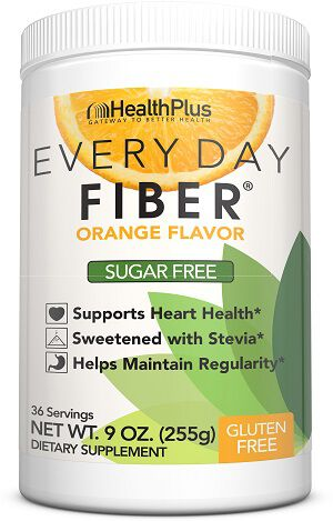 Health Plus Every Day Fiber® Orange 9 oz. Powder 5gram