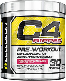 C4 Ripped Pre Workout Raspberry Lemonade