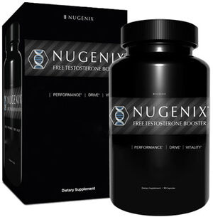 Nugenix Free Testosterone Booster 90 Capsules