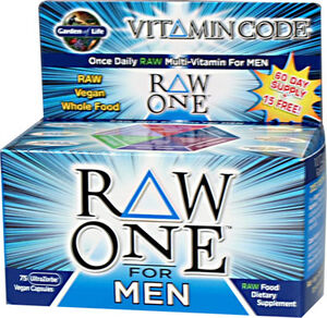 Garden Of Life Raw One™ Vitamin Code® for Men 75 Capsules