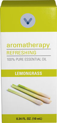 Vitamin World Lemongrass Essential Oil 10 ml. Liquid Tropic Grassesextract Sweet, Lemony