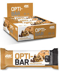 Optimum Nutrition Opti-Bar Protein Bars 12 Bars Chocolate Chip Cookie Dough