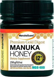 ManukaGuard® Premium Gold Throat Manuka Honey 12+ MGO 400