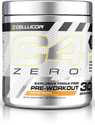 Cellucor® C4 Zero™ Preworkout Orange Mango
