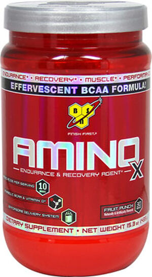 Amino X Fruit Punch 15.3 oz., , hi-res