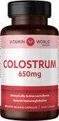 Vitamin World Colostrum 650 mg. 60 Capsules
