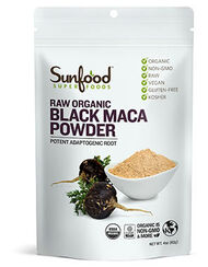 Raw Organic Black Maca Powder, , hi-res
