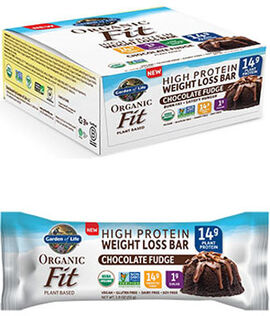 Organic Fit High Protein Weight Loss Bars Chocolate Fudge