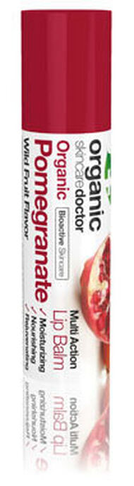 Organic Doctor Organic Pomegranate Lip Balm 6 ml. Tube