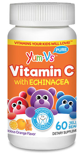 Yum-V's Vitamin C with Echinacea Jellies