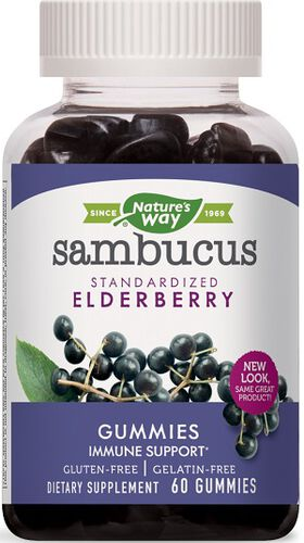 Nature's Way Sambucus Elderberry Gummies