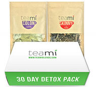 Teami Blends Teami Colon and Teami Skinny 30-Day Detox Tea Pack 1 Unit