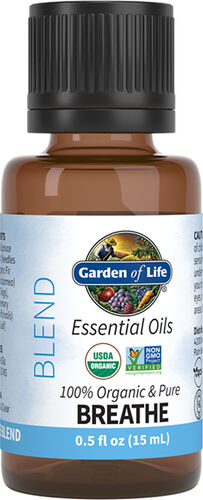 Garden of Life Organic Essential Oil Breathe Blend