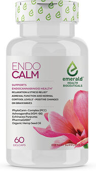 Emerald Health Bioceuticals Endo Calm Organic Hemp Seed Oil