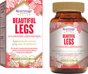 Reserveage™ Nutrition Beautiful Legs Advanced Diosmin Complex