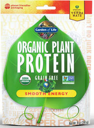 Organic Plant Protein Smooth Energy, , hi-res