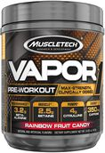 MuscleTech Vapor One Pre Workout Rainbow Fruit Candy 14.85 oz. 14.85 oz. Powder