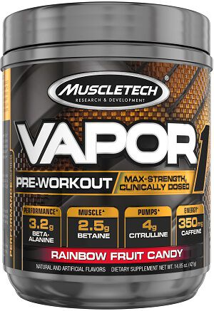 Vapor One Pre Workout Rainbow Fruit Candy, , hi-res